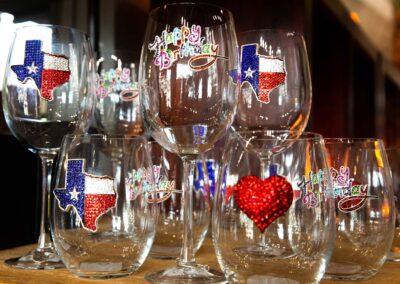 Charmed Wine Glasses