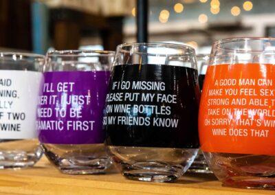 Comical Wine Glasses