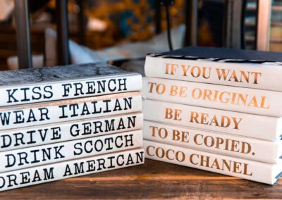 Book Spine Sayings